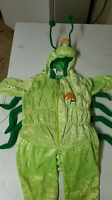 Plush Caterpillar  Halloween Costume Toddlersize 2-4