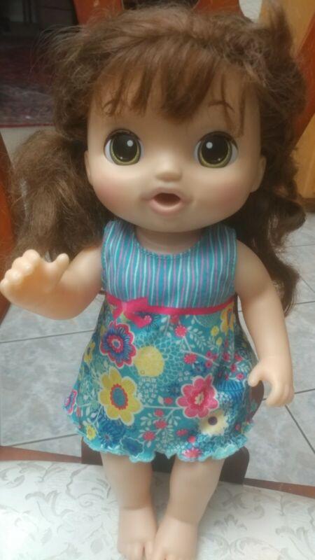 Baby Alive Sweet Tears 2016 Hispanic Brown Hair Cries Talks #C0958 72641AA