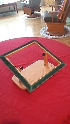 Photo Rug Hooking Frame Lap Model Solid Oak