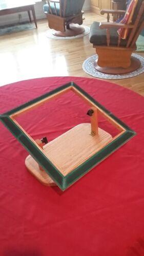 Rug Hooking Frame Lap Model Solid Oak