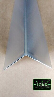 2 X 2 X 48 Aluminum Mill Finish Outer Corner Guard Angle Wall Protector .063