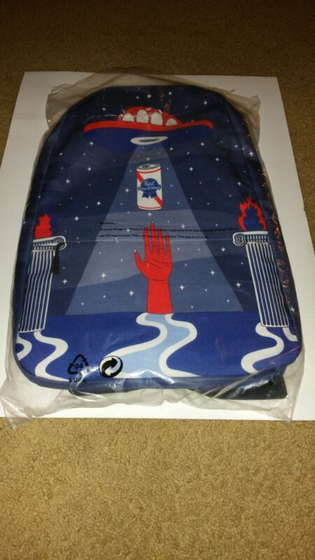 Pabst Blue Ribbon Beer back pack.The only one on ebay