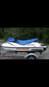 2005 Seadoo with trailer & cover