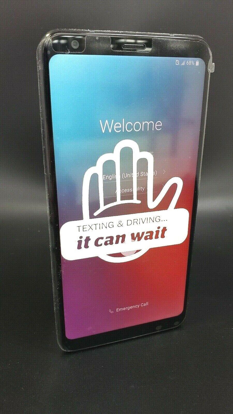 Android Phone - LG Stylo 4 32GB Aurora Black Smartphone Unlocked Q710AL
