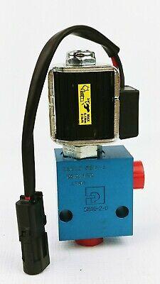 Parker Hydraulic Valve Sb10-2-6 W 12v Solenoid Cartridge 28w - New