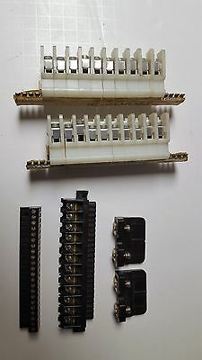 Mixed Lot Of Terminal Block Strip Cable Wire Connectors