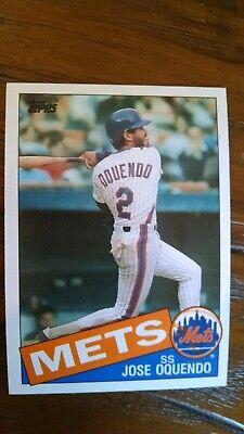 1985 Topps Jose Oquendo #598 Ex-nmnt New York Mets