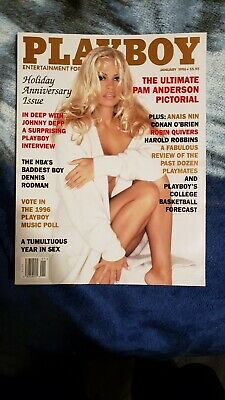 Playboy January 1996 Pam Anderson
