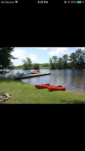 Muskoka cottage on the lakefront! Beautiful vacation getaway
