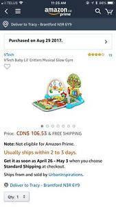 Vetch Baby Lil Critters Playmat