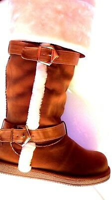 new size 5 1/2 ladies boots by alba full faux fur to your toes ebay best