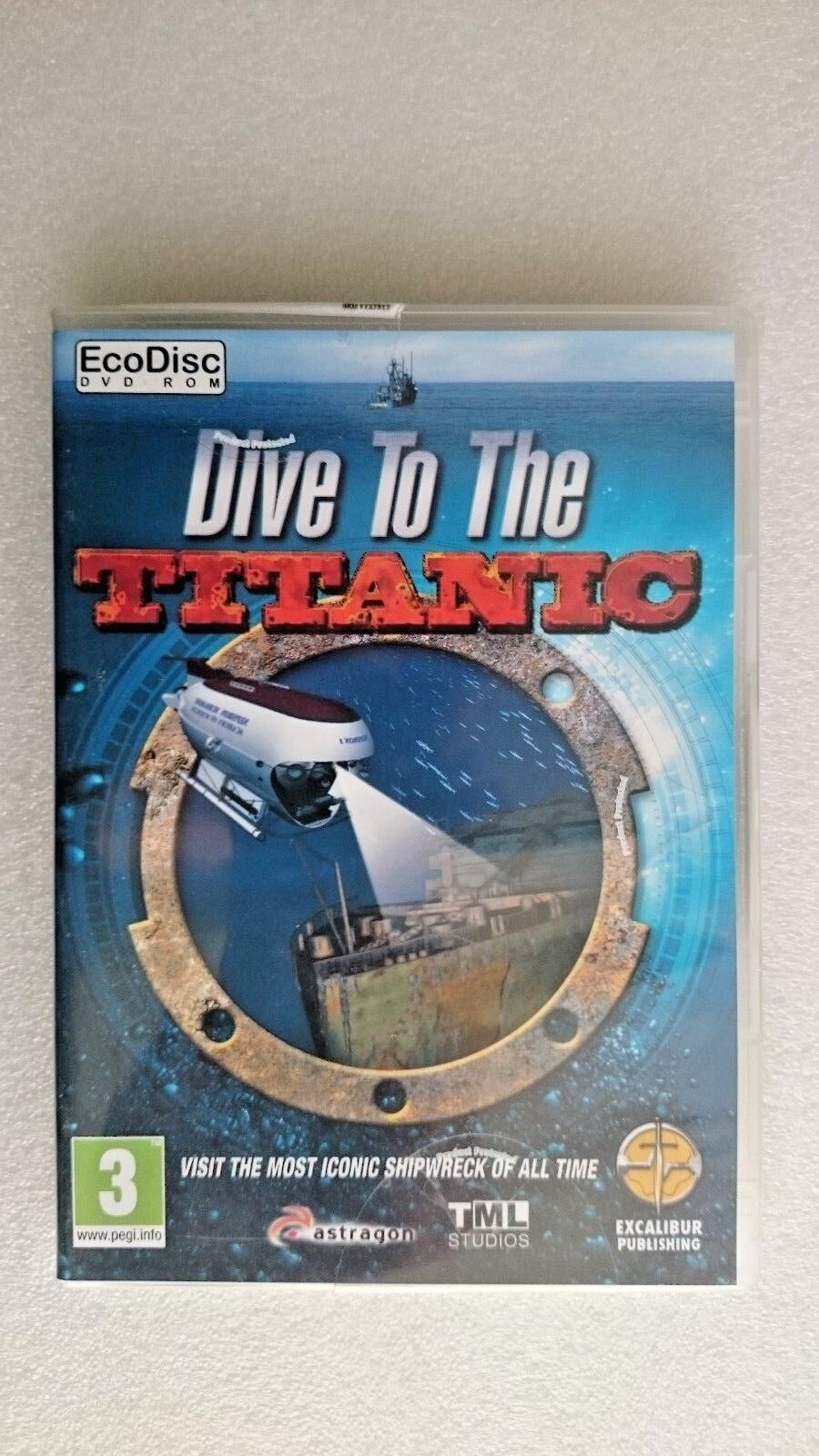Dive to the Titanic (PC, 2010) - NEW and SEALED