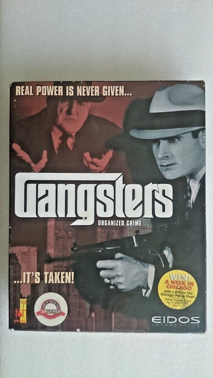 Gangsters (PC: Windows, 1998) - Big Box Edition