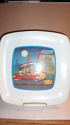 1989 Dennys Restaurants Flintstones Collector Plate Series No 1 Free Shipping