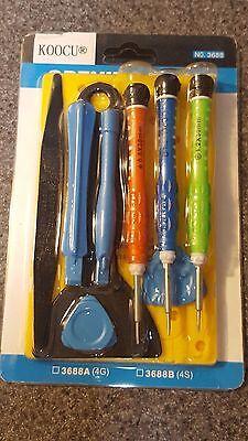 Precise Iphone Magnetic Screwdriver Set Repair Tool Kit Pentalobe Philips 00