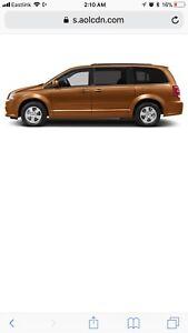 2012 copper dodge grand caravan