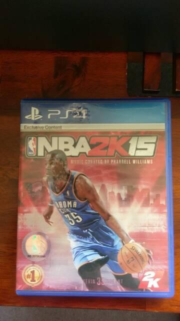 NBA 2k15 PS4 game *Pre-cupcake Durant edition* | Playstation