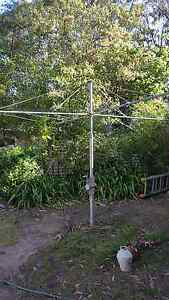 Galvanised Hills Hoist Washing Line Fitzroy Falls Bowral Area Preview