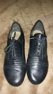 Hush puppies leather shoes Denistone East Ryde Area Preview