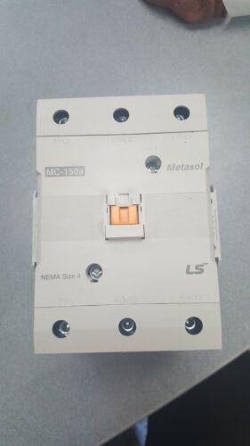 MC150A-22-AC120 W/ US-2 AND 2 UA-1 CONTACTOR