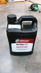 Mercury optimax outboard oil New Lambton Newcastle Area Preview