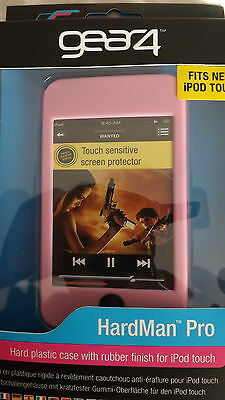iPod Touch 2nd Generation Gear4 Hard Plastic Soft Rubber Finish Hardman Pro PINK Ipod Touch 4. Generation Pink