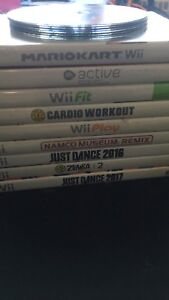 13 Different wii games