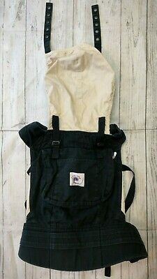 ERGO Baby Infant Carrier Backpack Original Camel Khaki Tan Black Up to 45 lbs