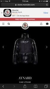 Moncler Aynard coat for men