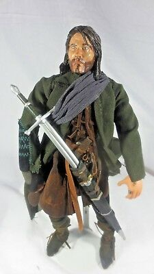 Fellowship Series - LOTR - Fellowship of the Ring - Aragorn - 12in Collector Series Doll