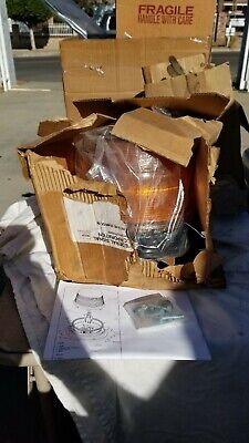 Federal Signal Strobe Amber Beacon 12-48vdc 2x Part 211880-02
