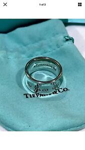 Genuine Tiffany & Co Wide Band Solid Silver Ring Dandenong Greater Dandenong Preview