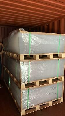 Pallet of 80 Sheets Skid 8x4 Feet Clear Cast Acrylic 96 x 48 inch Free Delivery