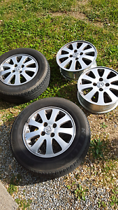 "Honda 14"" rims and two tyres Florey Belconnen Area Preview"