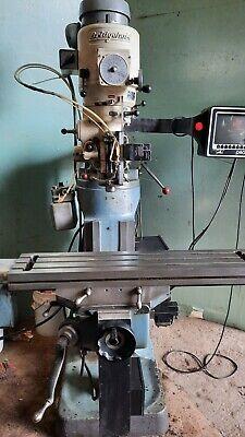Prototrak Mx2 Bridgeport Cnc Mill Prototrak 2 Axis Cnc Z Axis Dro