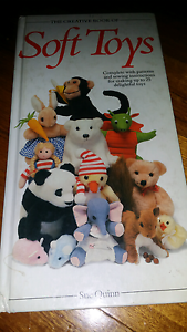 Soft Toys Hand Sewing Pattern Book Burnie Burnie Area Preview