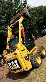 BOBCAT SKIDSTEER CAT 216B3 ONLY 660 HOURS NEW TYRES - EXCELLENT Smeaton Grange Camden Area Preview
