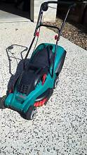 Bosch electric lawn mower Southside Gympie Area Preview