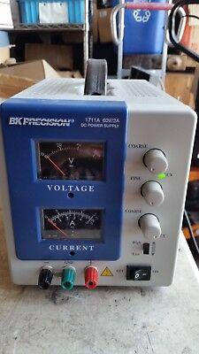 Bk Precision 1711a Single Output Dc Power Supply 0-60v 0-3a  Free Shipping