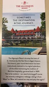 Two night stay at the Algonquin