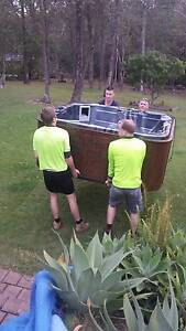 Outdoor spa removals Carindale Brisbane South East Preview