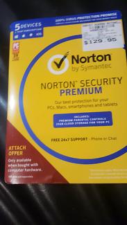 Norton Security Premium 1 year subscription (Unopened)