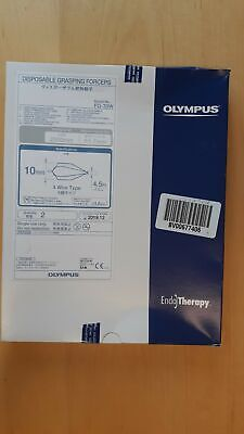 Olympus Fg-33w Disposable Grasping Forceps Box Of 2
