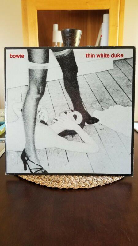 """David Bowie Thin White Duke Live 1976 2 x 12"""" Red Vinyl Rare"""