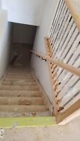 INSTALLATION OF BASEBOARDS-DOORS-TRIM-FLOORS-CASING-STAIRS-WINDO