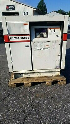 Used 50 Hp Gardner-denver Rotary Compressor Full Quiet Housing 230460v