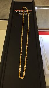 10k 4mm rope chain