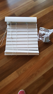 White Timber look venetian blind Lilli Pilli Sutherland Area Preview