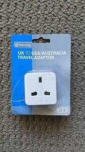 NEW UK to USA/Australia Travel Adaptor