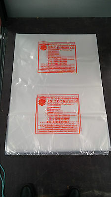 50 Polythene Dust Extractor bags 39
